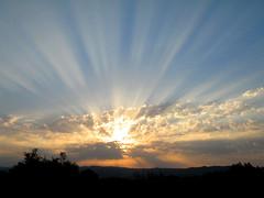 sunrise June 25 (Marlis1) Tags: españa sunrise spain cataluña tortosa montes superbmasterpiece vision100
