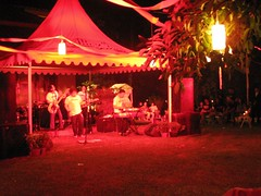 the party (grouchiosa) Tags: studio indonesia la couple jakarta bandung pendulum voila aksara june2006