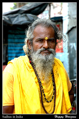 A Sadhu portrait (HappyHorizons) Tags: street india color sadhu hiduism