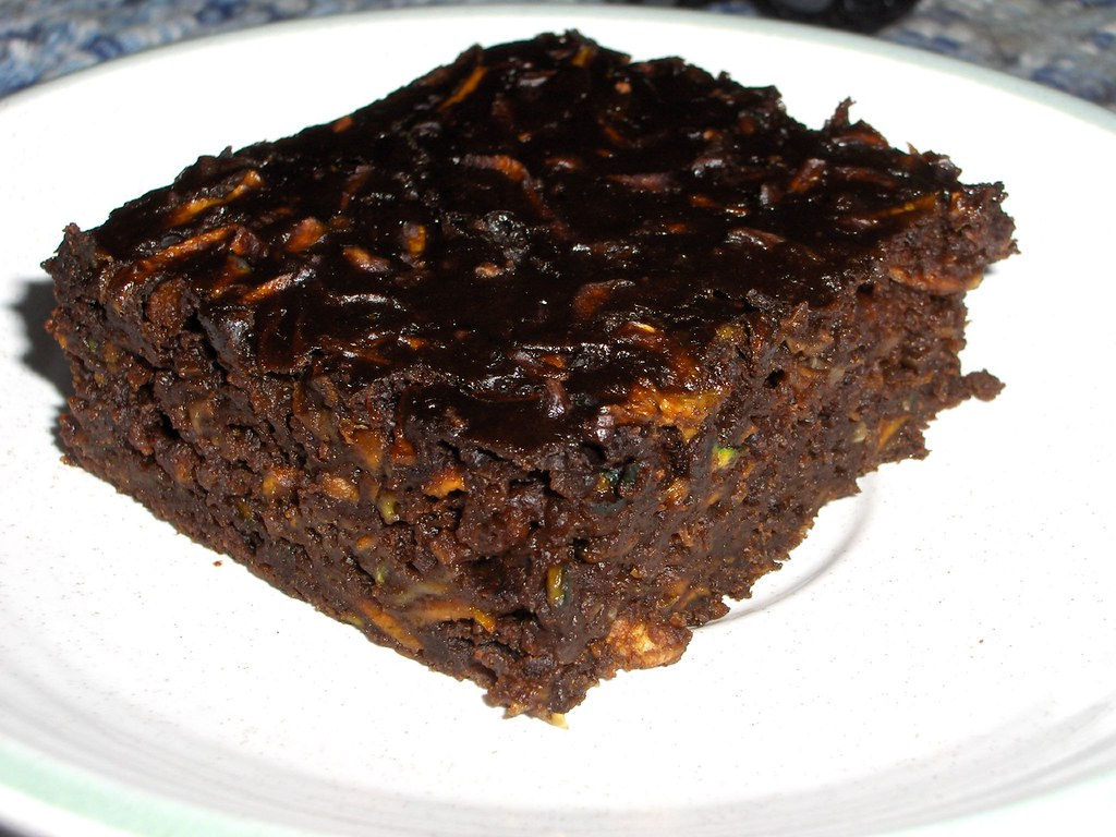 Veggie Brownies (w/recipe)