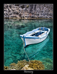 Greek harmony (nune) Tags: travel sea vacation reflection water wow island boat 2006 greece harmony zakynthos abigfave impressedbeauty superbmasterpiece diamondclassphotographer ultrashot