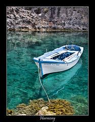 Greek harmony (nune) Tags: travel sea vacation reflection water wow island boat 2006 greece harmony zakynthos abigfave impressedbeauty superbmasterpiece diamondclassphotographer ultrashot