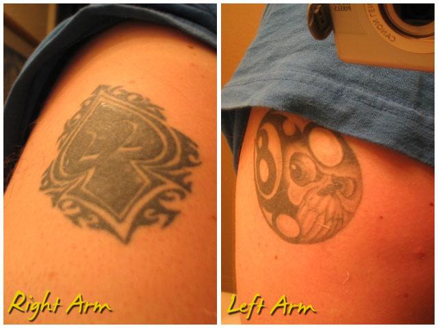 spade. tattoo.