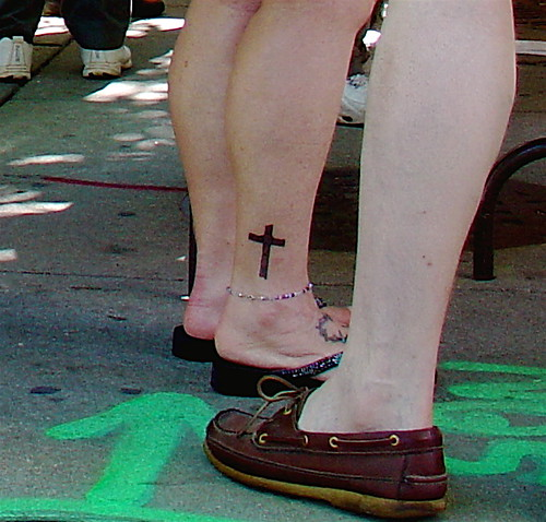 cross tattoos for girls
