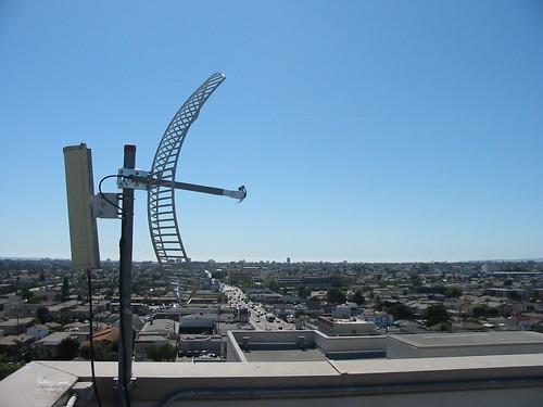 24dbi parabolic antenna