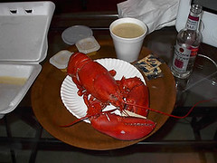 "mmmmm lobstah! and chowdah! <a style=""margin-left:10px; font-size:0.8em;"" href=""http://www.flickr.com/photos/25671950@N00/194342821/"" target=""_blank"">@flickr</a>"