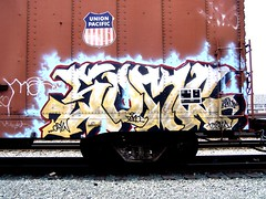 Some (Heart of Oak) Tags: california street shadow art cars college beautiful rock yard graffiti oakland mural paint artist character tag tracks culture some style trains spray crew writers illegal vandalism bayarea roller writer hiphop local graff dope outline piece burner bomb sick gypsy ghetto 23rd trainyard krylon fill throwup wholecars wildstyle merrit southoakland gypsyrock layups