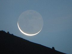 Last (visible) moonrise - by jpstanley