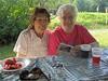 Sandi, A Janet (irish blue eyes) Tags: camp mountain aunt driftwood cousin driftwoodpa masonhill
