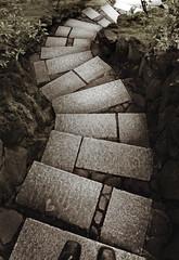 Portland Hock (ken mccown) Tags: stone portland japanesegarden path steps pdx curve landscapearchitecture landscapedesign aldoshoes stunningphotogpin