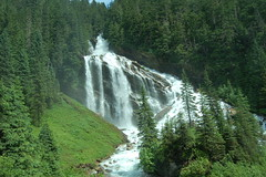 Pyramid Falls 2 (Patrick Costello) Tags: canada d50 waterfall rockymountaineer pyramidfalls