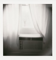 (r.yen) Tags: window polaroid living holga room dream airconditioner curtains holgaroid polga type84 polaroid84
