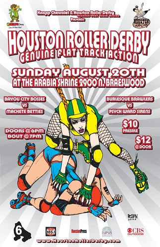 Bout 6 Poster (Artwork by Chris Rien)