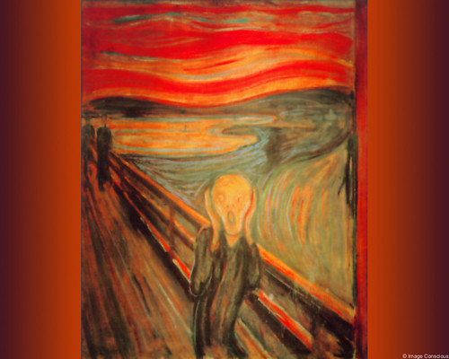 the scream of colors The artist's active and dynamic use of curving lines and strong colors give the composition an intense energy what the scream portrays is not a dream, but a.