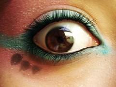 my eye! (alineioavasso™) Tags: black eye eyes castanho cyan olhos olho