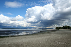 The Tiny City (*Sherry*) Tags: blue sky white canada beach water vancouver clouds canon landscape sand utata 1855mm rebelxt top20landscape canonrebelxt jerichobeach qi 4aces theworldthroughmyeyes utatafeature sherryli twtmeblogged thetinycity 75faves75comments750views sherryxjli sherryliphoto