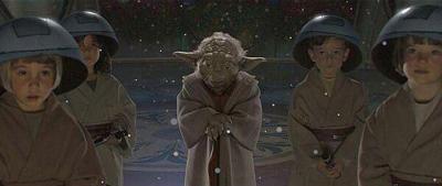 MAster Yoda and kids