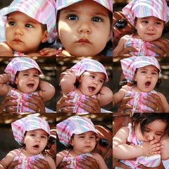 sleepy (Asli Kodan) Tags: pink baby cute hat big eyes sleepy lovely naz yawning mundouno blackribbonicon