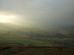 Towards Todmorden from Stoodley Pike - by pluralzed