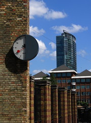 Half-Clock and West India Quay