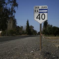 C L A S I C O (GUSTAVOSERONELLO) Tags: road argentina ruta san carretera juan route estrada 40 nacional ruta40 rodovia autovia