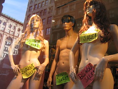 Nudes for Sale (Squid Ink) Tags: signs newyork mannequin manhattan gothamist