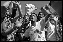 Hear Me Roar (danny.hammontree) Tags: blackandwhite bw lebanon usa art march israel washingtondc washington bush districtofcolumbia nikon war peace unitedstates iran god palestine flag muslim georgewbush fear faith georgebush politics iraq whitehouse rally religion protest d2x middleeast photojournalism saturday august 2006 christian demonstration arab antiwar violence jew jewish zionism judaism antibush nikkor fascism beirut lafayettepark israeli activist liban violent لبنان palestinian occupation orthodoxjews waronterror marches rallies coexist 你好 hammontree digitalgrace nikond2x 和平 peacemovement dannyhammontree wwwdigitalgracecom warsucks اسرائيل sfchronicle96hours freelebanon سلا صلح روبان مشكي 黑絲帶 黎巴嫩以色列 20060812