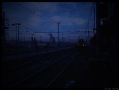 Last Days (Aurora Demasi) Tags: blue station last days aurora dite demasi