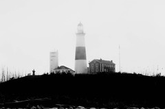 Silent Hill (noamgalai) Tags: light usa lighthouse house tower fog photography us photo silent hill picture dramatic photograph noam allrightsreserved   silenthill photomania  noamg galai noamgalai   wwwnoamgalaicom