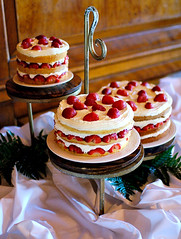 Have your cake... (Ryan Brenizer) Tags: wedding red food newyork cake work bride nikon bokeh strawberries august 2006 sigma30mmf14dc adirondacks upstateny noflash depthoffield d200 saranaclake sigma30mmf14exdchsm hotelsaranac zachandvanessa