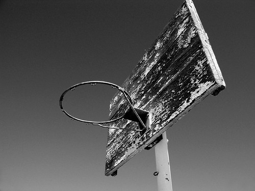 Cool Basketball Black And White: The Temptation News: Black And White Basketball Hoop