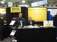 (wirednerd) Tags: sanfrancisco california booth moscone linuxworld august2006 wysetechnology wyse