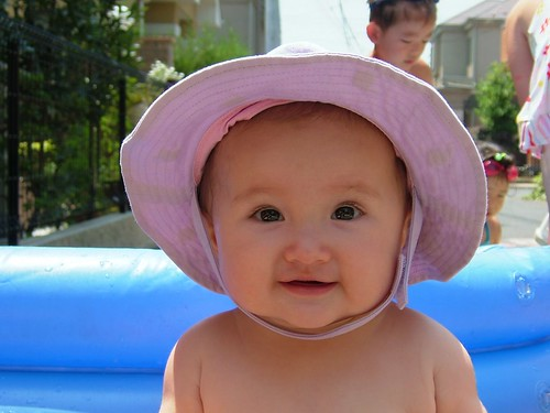 Mai's Sunhat by Big Ben in Japan, on Flickr