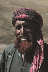 So happy! (Koshyk) Tags: portrait india smile tribal kashmir turban ethnic oneyear theface gujjar abigfave