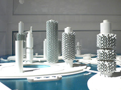 Marine City - Kuyonori Kikutake 1963 (mr prudence) Tags: architecture barbican utopian future utopia 1963 experimentalarchitecture exhibtion marinecity futuristicarchitecture futurecity kuyonorikikutake