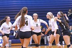 IMG_8315 (SJH Foto) Tags: girls volleyball high school york delone catholic team teen teenager huddle
