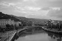 Guggenheim Museum Bilbao (gustavomoscoso30) Tags: bw espaa blancoynegro spain arquitectura bilbao basquecountry monocromatico