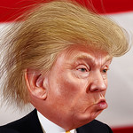 From flickr.com: Donald Trump - Caricature {MID-214254}