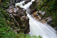 Rocks and water (pedroj451) Tags: blur france alps rocks waterfalls gorge gorges passy servoz