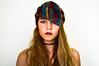 Mind (StephotographyW) Tags: girl hat fashion scarf studio model young makeup whitebackground blond studioshot lipstick shawl studiolighting womensfashion d3200