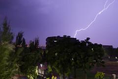 Tarde de lluvia, rayos y truenos... (Marmotuca) Tags: storm tormenta trovoada rayos fotografanocturna