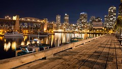 A quiet autumn night in Granville Island (Spencer Finlay) Tags:
