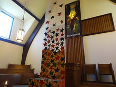 DSC04159 (Michael S in Seattle) Tags: sacredspace fabricart wallingfordumc sanctuaryart welcomesunday2015