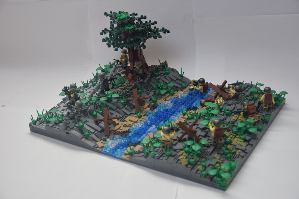 The world 39 s best photos of 1945 and lego flickr hive mind for Siege lego france