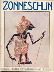 zonneschijn sept 1929 ,cover  Anton Pieck (janwillemsen) Tags: 1929 magazinecover antonpieck wajang zonneschijn