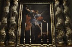 St Michael (Lawrence OP) Tags: painting michael columns saints malta victory angels satan devil stmichael defeat archangel valletta cocathedral solomonic