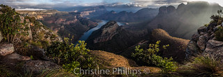South Africa's Blyde River Canyon - Largest Green Canyon in the World... third largest overall