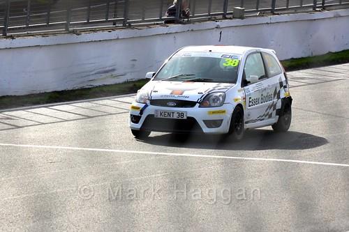 Lewis Kent in the Fiesta Junior Championship, Brands Hatch, 2015