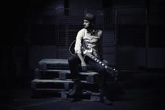 GUITAR BLUES (mister evans) Tags: portrait nikon guitar blues player singer gibson guitarist fleas lespaul d800 lastolite 2470mm sb900