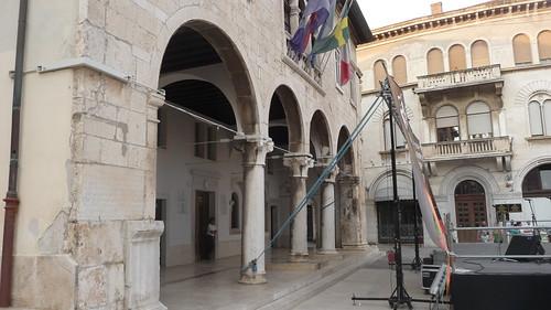 The Old City, Main Square, Pula, Istra, Croatia